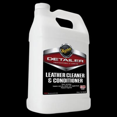 Leather Cleaner/Conditioner, D180, Gallon image