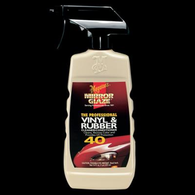 Vinyl & Rubber, Cleaner/Conditioner by Meguiars, M4016, 16oz image