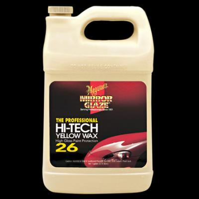 Wax, Hi-Tech Yellow Wax by Meguiars, liquid, M26, Gallon image