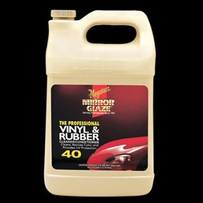 Vinyl & Rubber, Meguiars Cleaner/Conditioner, M4001, Gallon image