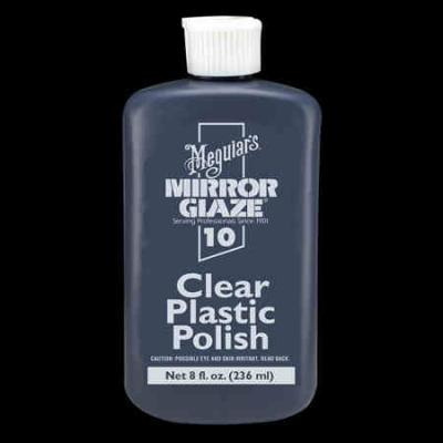 Clear Plastic, Polish by Meguiars, M10, 8oz image