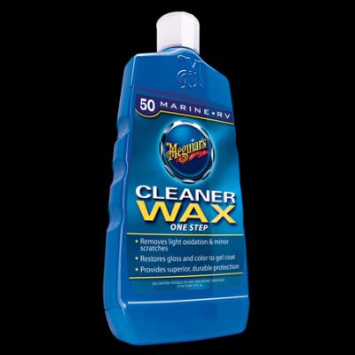Fiberglass, Meguiars Cleaner/Wax, M5016, liquid, 16oz image
