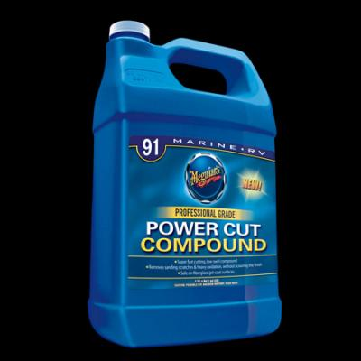 Fiberglass, Meguiars Power Cut Compound, M9101, Gallon image