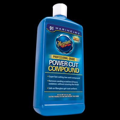 Fiberglass, Meguiars Power Cut Compound, M9132, 32oz image