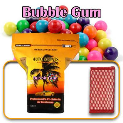 Bubble Gum, scented pads, 60 count bag image