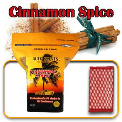 Cinnamon Spice, scented pads, 60 count bag image