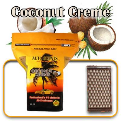 Coconut Creme, scented pads, 60 count bag image