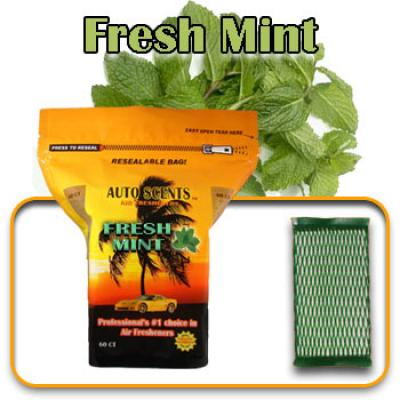 Fresh Mint, scented pads, 60 count bag image