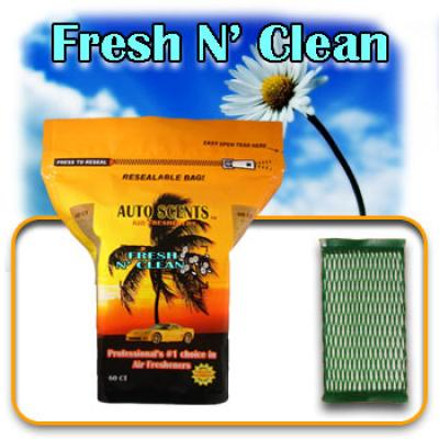 Fresh N' Clean, scented pads, 60 count bag image