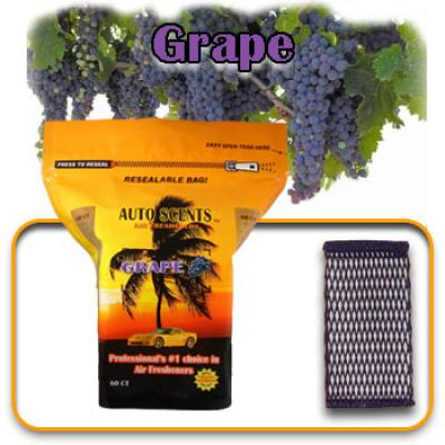 Grape, scented pads, 60 count bag image