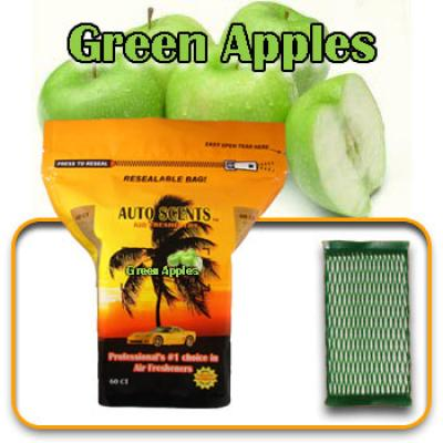 Green Apple, scented pads, 60 count bag image