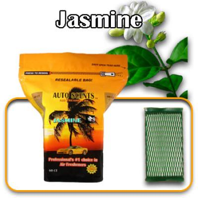 Jasmine, scented pads, 60 count bag image