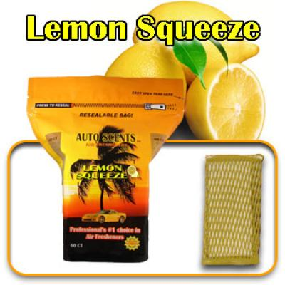 Lemon Squeeze, scented pads, 60 count bag image