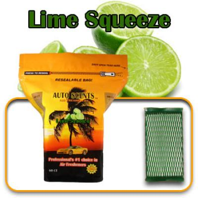 Lime Squeeze, scented pads, 60 count bag image