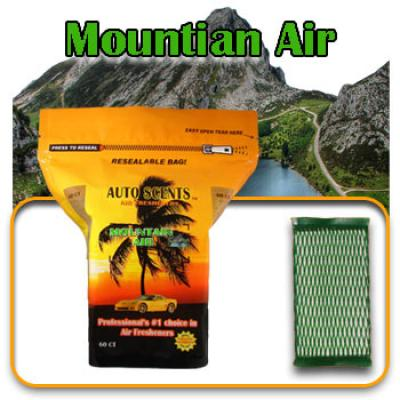Mountain Air, scented pads, 60 count bag image
