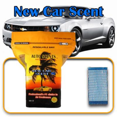 New Car, scented pads, 60 count bag image