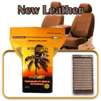 New Leather, scented pads, 60 count bag image