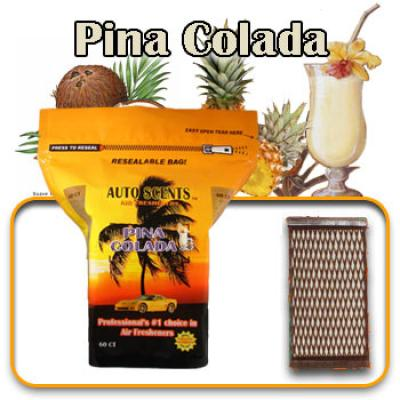 Pina Colada, scented pads, 60 count bag image