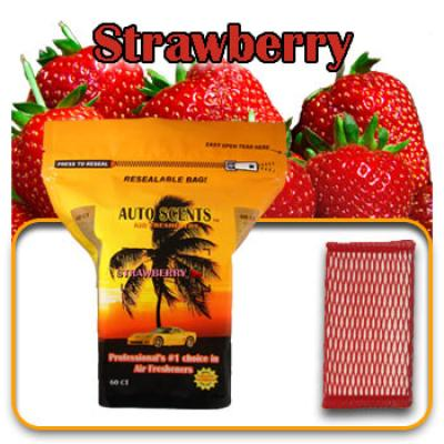 Strawberry, scented pads, 60 count bag image