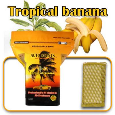 Tropical Banana, scented pads, 60 count bag image