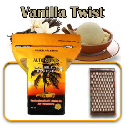 Vanilla Twist, scented pads, 60 count bag image